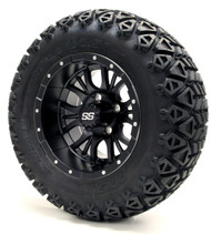 "12"" GTW Diesel Matte Black Wheels 