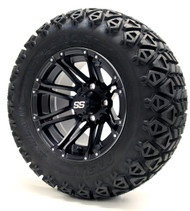 "12"" GTW Voyager SS Matte Black Wheels 