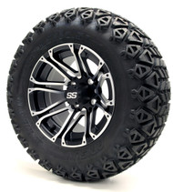 "12"" GTW Voyager SS Machince Black Wheels 