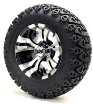 "12"" GTW Vampire Machine Black Wheels 