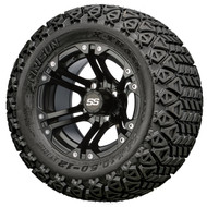 "12"" GTW Specter SS Painted Black Wheels 
