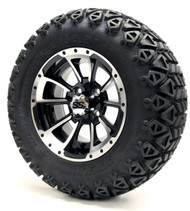 "12"" GTW Clutch Machine Black Wheels 
