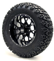 "12"" GTW Vortex SS Gloss Black Wheels 