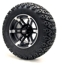 "12"" GTW Barracuda SS Matte Black Wheels 