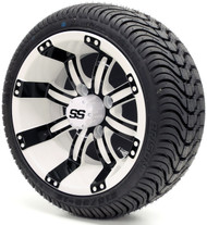 "12"" GTW Tempest SS White/Black Wheel 