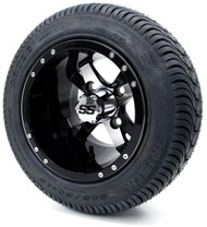 "10"" Twister Wheels & Tires Set"