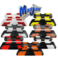 Madjax Two-Tone Riptide Rear Seat Covers