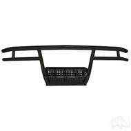 Club Car DS 1982-Up Black Powder Coat Front Steel Brush Guard - RHOX