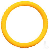 Rubber Steering Wheel Cover - Yellow