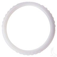 Rubber Steering Wheel Cover - Clear