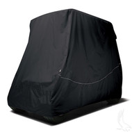 RHOX Golf Cart Storage Cover for 80 Inch Carts - Black