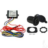 USB Charging Kit, 24-48V Electric Golf Cart