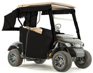 "EZGO TXT48 ""PRO-TOURING"" 3-Sided Sunbrella Track Style Golf Cart Enclosure"