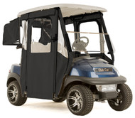 "Club Car Precedent ""DOOR-LUX"" 3-Sided Sunbrella Golf Cart Enclosure (Choose Color)"