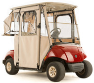 "Yamaha Drive  ""DOOR-LUX"" 3-Sided Sunbrella Golf Cart Enclosure (Choose Color)"