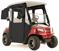 "Club Car Onward ""DOOR-LUX"" 3-Sided Sunbrella Golf Cart Enclosure (Choose Color)"