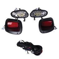 E-Z-GO TXT/T48 LED Headlight & Taillight Kit (Years 2014-Up)