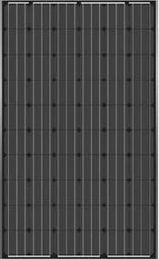 JA Solar JAM6(BK)-60-255/SI 255 Watt Solar Panel Module image
