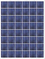 Shanghai Electric SESE P160 Watt Solar Panel Module image