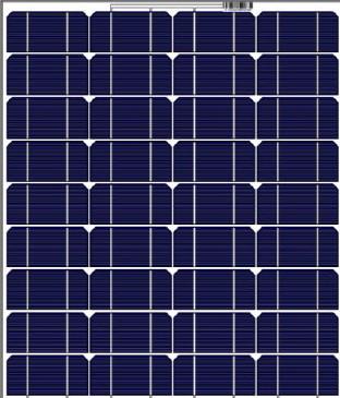 Solar Innova ESF-M-M160-195W 160 Watt Solar Panel Module image