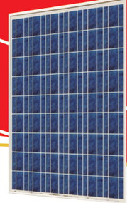 Sunrise SR-P654 205 Watt Solar Panel Module image
