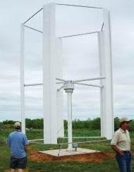 Maglev Vertical Turbine 2.5kW Wind Turbine