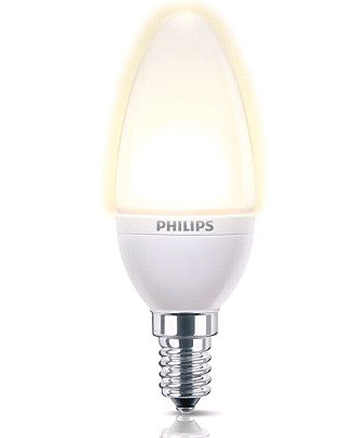 Philips AccentWhite Candle Image