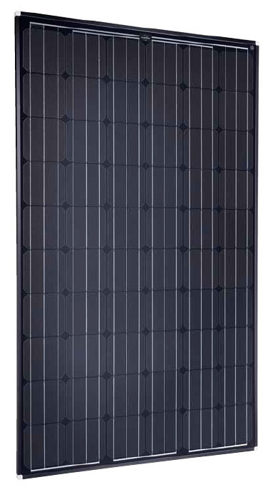 SolarWorld Sunmodule Plus SW 260 Mono Black 260 Watt Solar Panel Module Image
