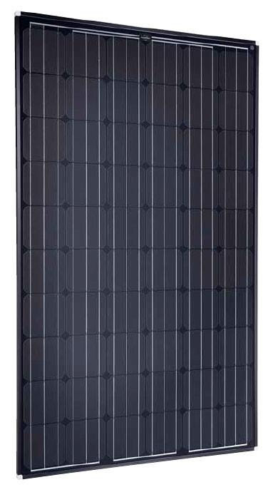 SolarWorld Sunmodule Plus SW 265 Mono Black 265 Watt Solar Panel Module Image