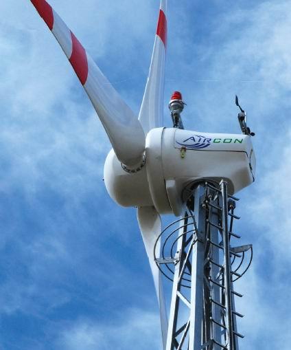 Aircon 10S 9.8kW Wind Turbine
