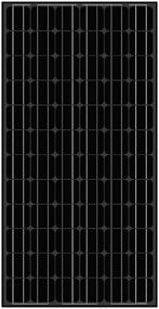 Amerisolar AS-5M Black 190 Watt Solar Panel Module
