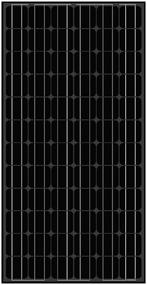 Amerisolar AS-5M Black 195 Watt Solar Panel Module
