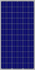 Amerisolar AS-6P 300 Watt Solar Panel Module