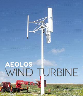 Aeolos Aeolos V 5000w 5000w Off Grid Wind Turbine