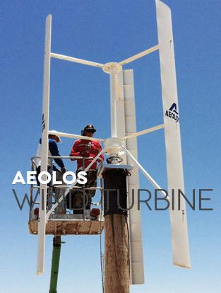 Aeolos Aeolos-V 3000w 3000W Off Grid Wind Turbine
