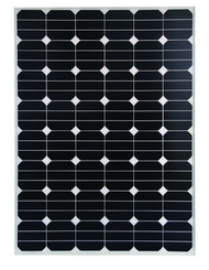 CleverSolar Sunpower cells 140 Watt 24V Solar Panel Module