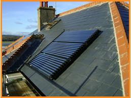 Solar UK Lazer 2 Vacuum Tube Solar Water Heating Panels