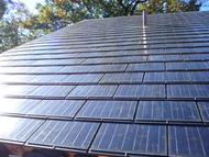 Atlantis Energy BIPV Sunslates6-SS156GM 23 Watt Roof Sunslate