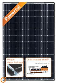 Panasonic VBHN330SA15 330 Watt Solar Panel Module