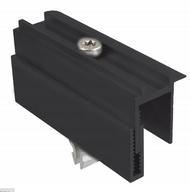 Schletter Rapid Two Plus Black End Clamp Module