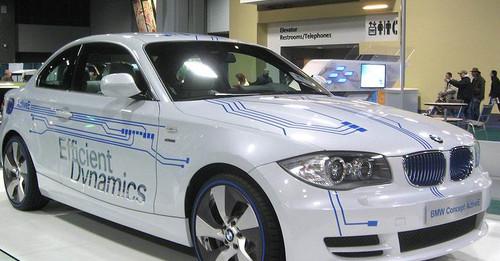 BMW Concept ActiveE Electric Vehicle Image