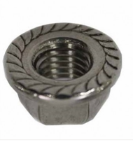 Schletter M10 Flange Nut with Locking Teeth (Pack of 100)