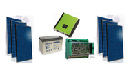 Auo BenQ GreenTriplex PM060P00 1,530 Watt Solar Panel Module Kit