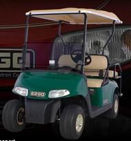 E-Z-GO Golf Shuttle 2+2 RXV Electric Vehicle Image