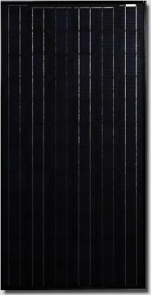 Canadian Solar All-black CS5A-160 Watt Solar Panel Module image