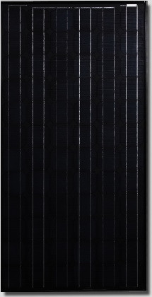 Canadian Solar All-black CS5A-165 Watt Solar Panel Module image