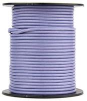 Light Purple Round Leather Cord 1.0mm 10 Feet
