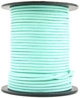 Aqua Round Leather Cord 1.5mm 10 Feet