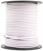 Lilac Forest Round Leather Cord 1mm 25 meters