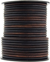Gypsy Sippa Natural Dye Round Leather Cord 3.0mm 25 meters